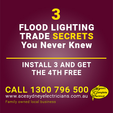 Three Least Known Flood Light Trade Secrets | Newtown Electrician